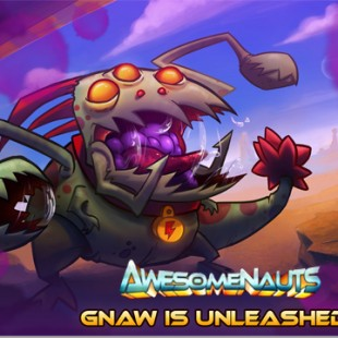 Awesomenaut Gnaw is unleashed!