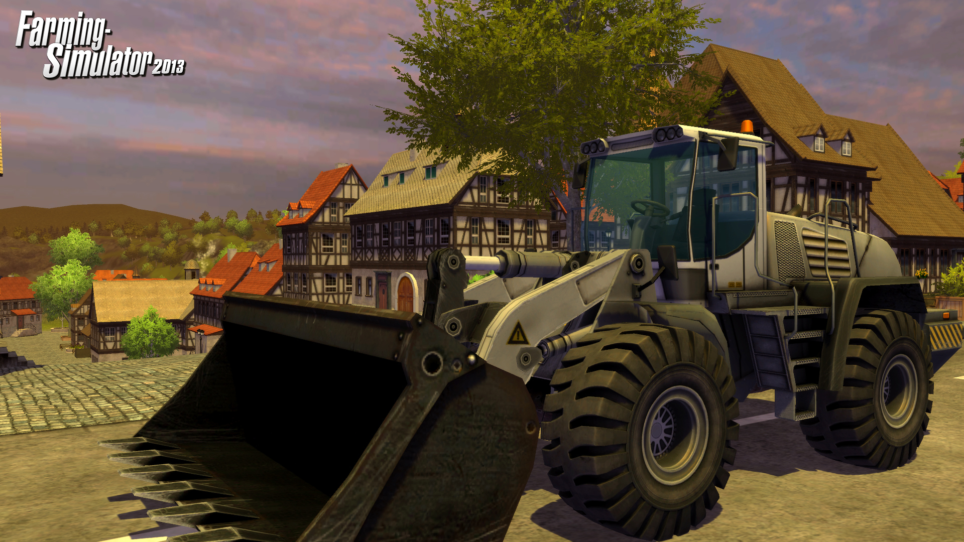 Farming Simulator 2013 invites you aboard the largest farming