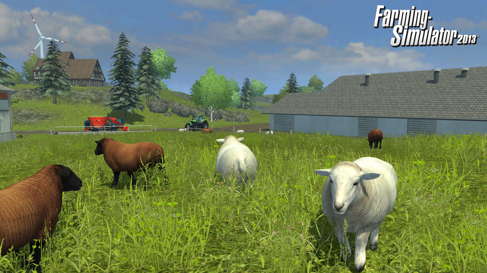 Farming Simulator 2013: a rich harvest of new features in screenshots!