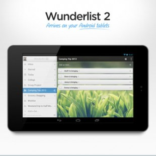 Wunderlist 2 arrives on Android
