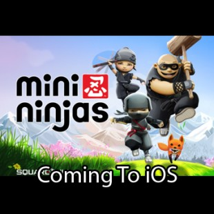 Mini Ninjas out today for iPhone, iPad and iPod Touch