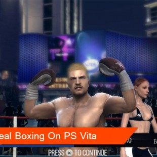 Real Boxing punches its way to PlayStation Vita
