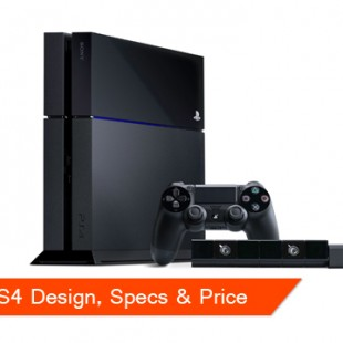 PS4 Design, Specs and Price Unveiled