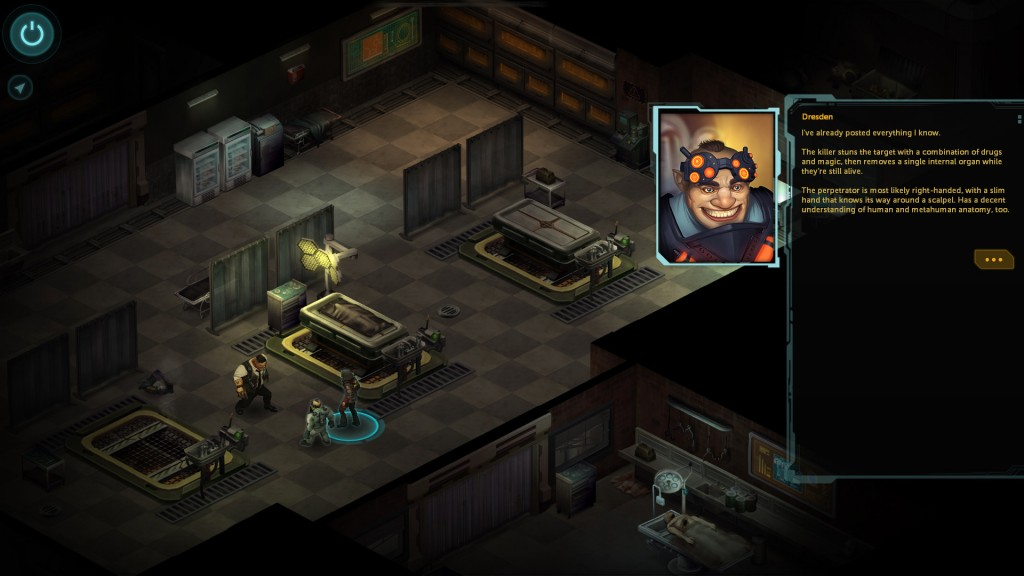 shadowrun returns morgue