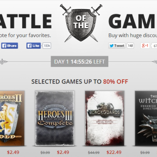 Save Big with GoG's Latest 'Battle of the Games'
