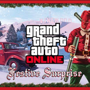 The GTA Online Festive Surprise Now Available