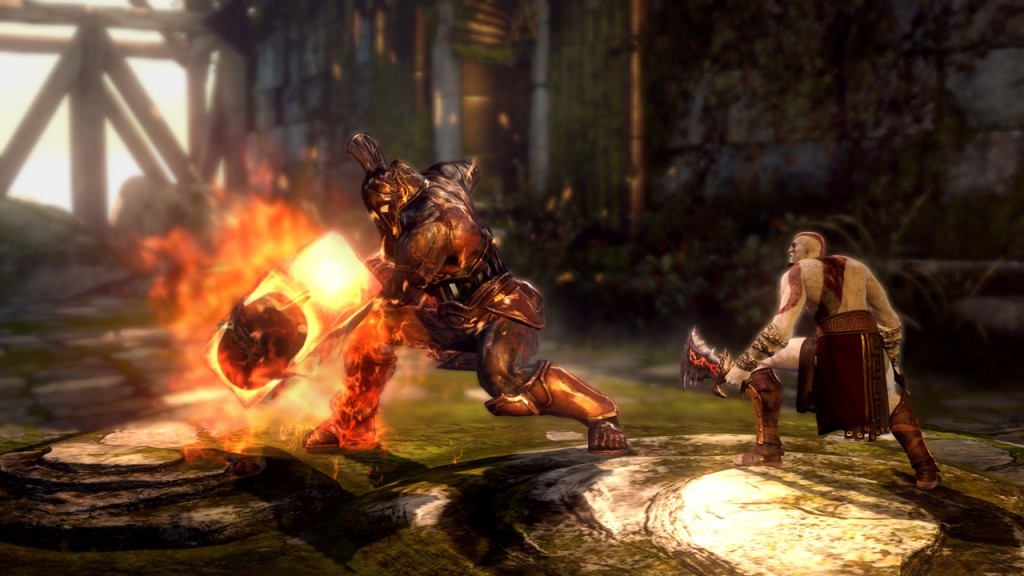 God of War: Ascension gameplay