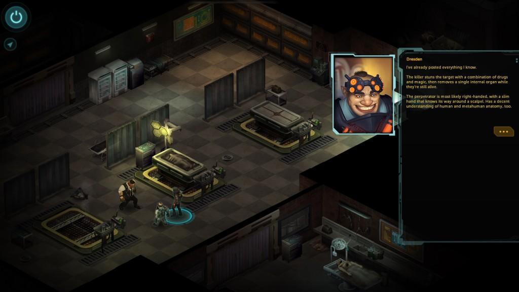shadowrun returns morgue