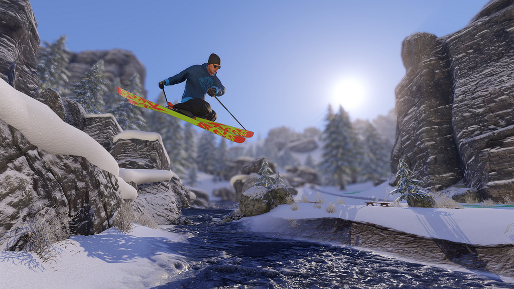 Sports Games For Ps4 : Open world winter sports game snow lands in early access